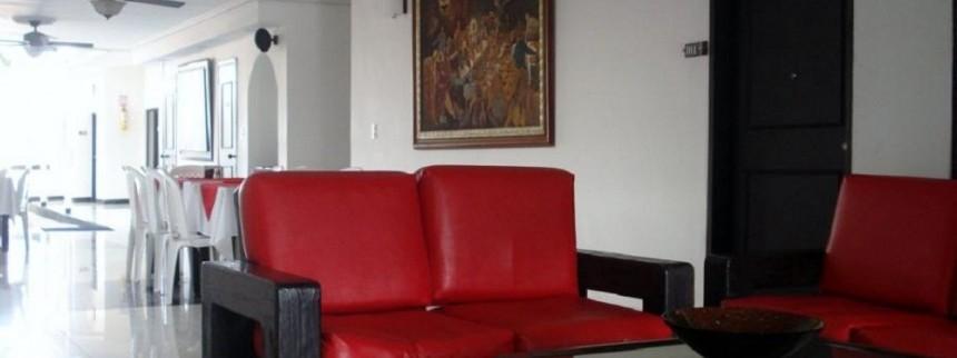 Lobby Fuente hotelbocagrande com