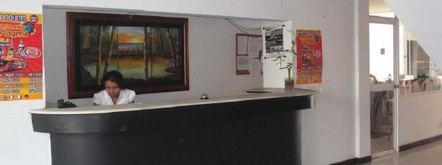 Recepcion  Fuente hotelbocagrande com